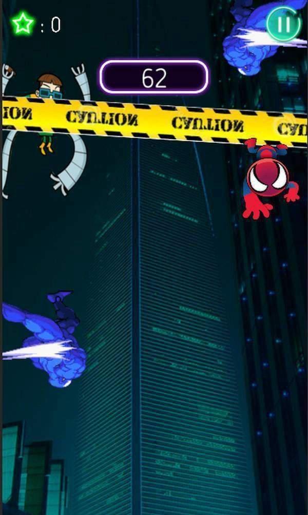 超级蜘蛛英雄塔