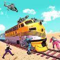 火車劫匪美國警察火車搶劫模擬