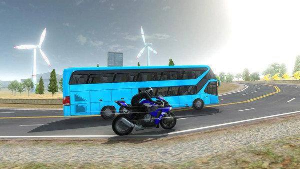 摩托VS巴士