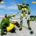 烏龜英雄汽車變形機器人射擊