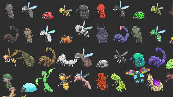 百万虫子大战