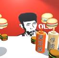 老八汉堡店中文版
