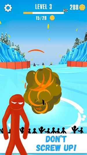 火柴人雪橇赛