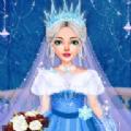 冰雪公主婚礼装扮造型师