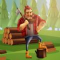 伐木工倒樹