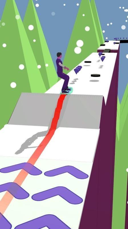 单板滑雪3D