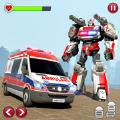 救护车紧急机器人3D