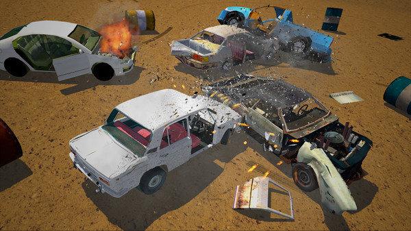 車禍破壞模擬截圖