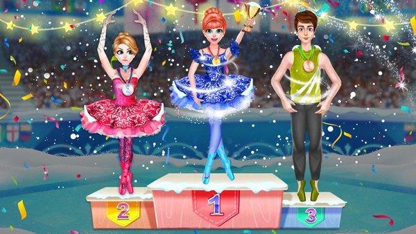 冰芭蕾舞女演员游戏截图