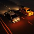 深夜出租车驾驶