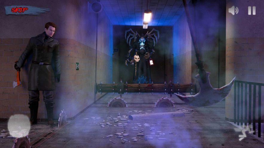 可怕的邪恶幽灵惊险逃生