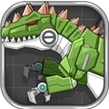机器恐龙大战巨兽龙