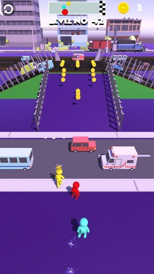 交通竞赛跑步3D截图