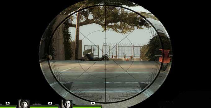 求生之路2战术狙击瞄准镜mod