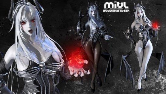 米烏爾:女妖皇后最新漢化版