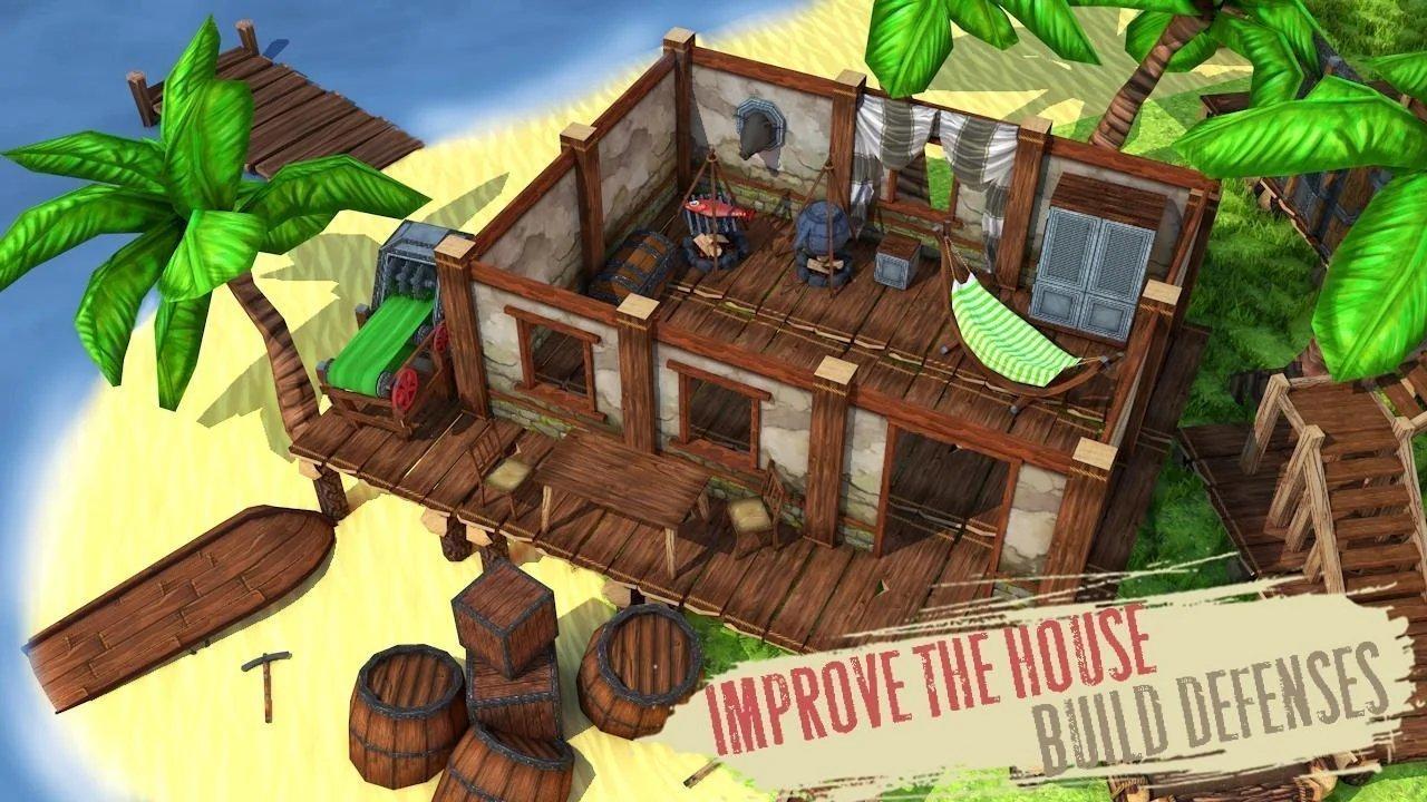 生存岛建造模拟器