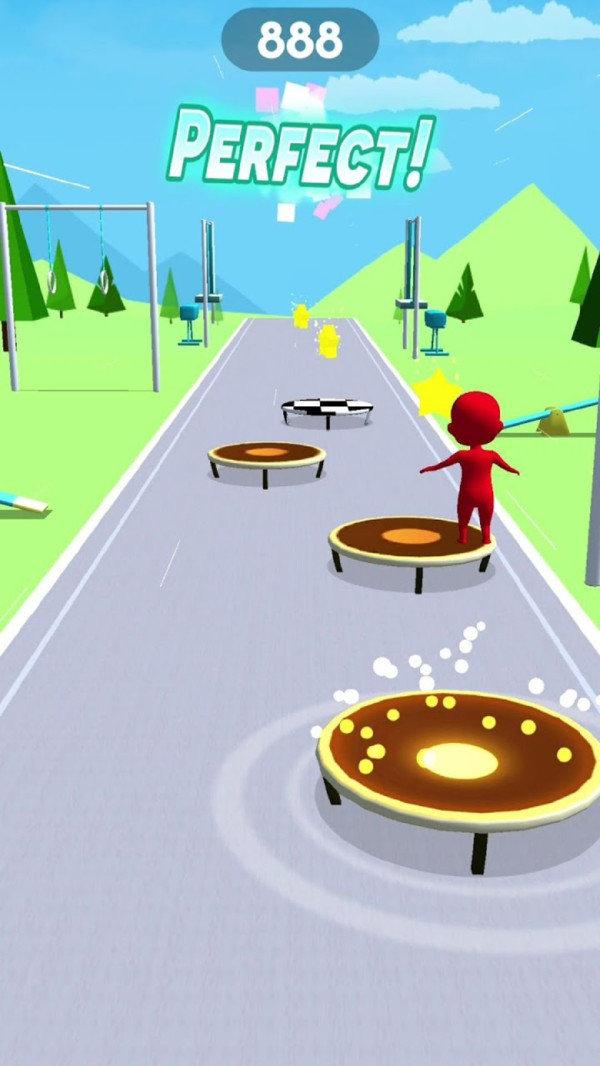 欢乐蹦床3D游戏截图