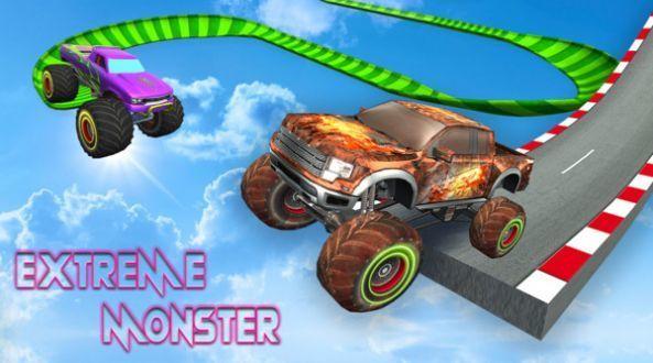 怪兽车特技挑战赛游戏下载-怪兽车特技挑战赛手机版下载