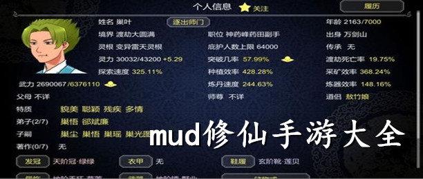 mud修仙