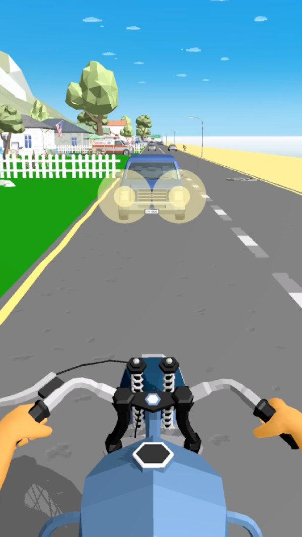 摩托车冲冲冲