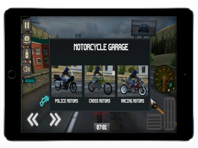 快速危險摩托車