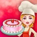 和妈妈做甜甜圈