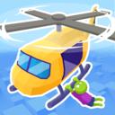 直升机僵尸救援游戏