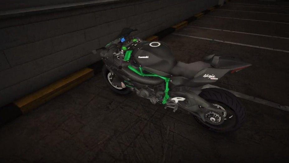 川崎摩托车模拟器