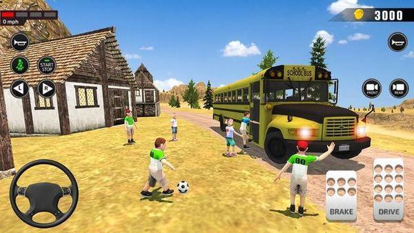 越野校车司机3D下载-越野校车司机3D游戏下载