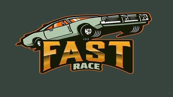 超级快的赛车