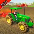 农用拖拉机驾驶模拟器3D