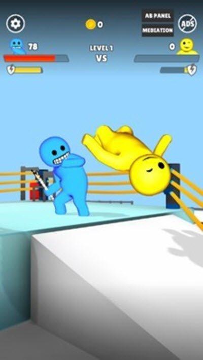 沙雕摔跤下载-沙雕摔跤游戏