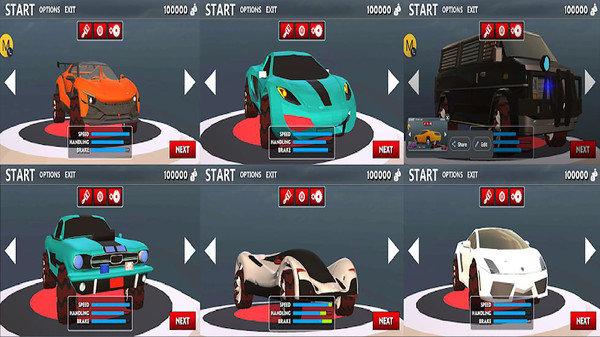 高速赛车3D