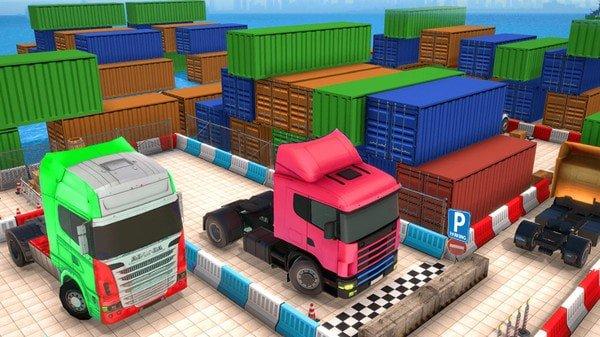城市卡車停車模擬器下載-城市卡車停車模擬器游戲下載