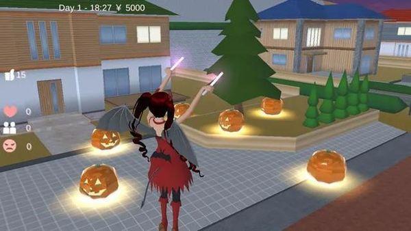 樱花校园模拟器感恩节中文版下载-樱花校园模拟器感恩节2020下载