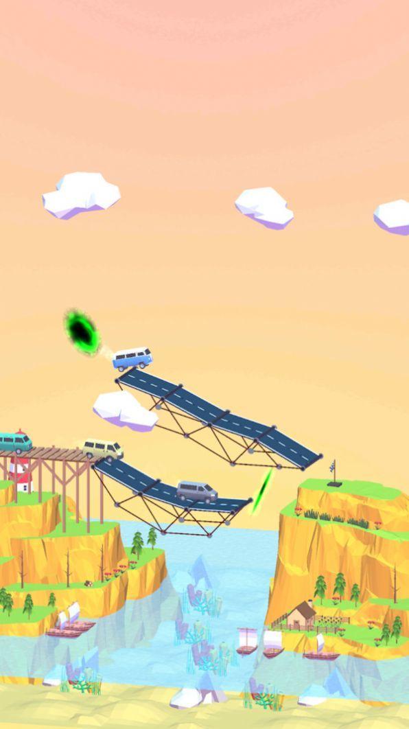 桥梁搭建3D安卓版下载-桥梁搭建3D手机版下载