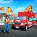 披萨快递男孩