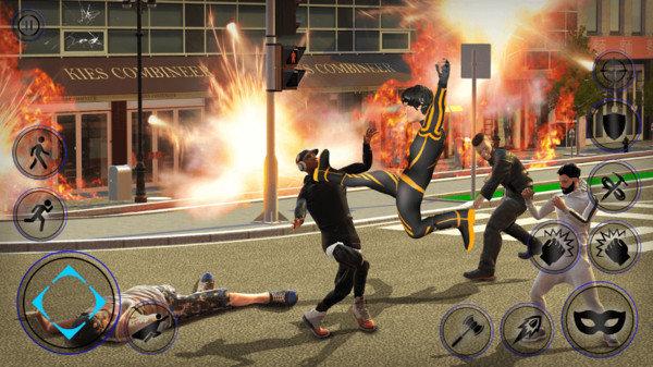 未来钢铁侠绳索英雄游戏下载-未来钢铁侠绳索英雄手机版下载
