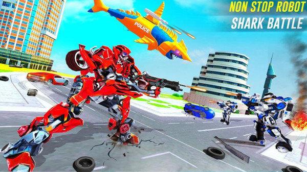 机器人鲨鱼袭击游戏下载-机器人鲨鱼袭击安卓版下载