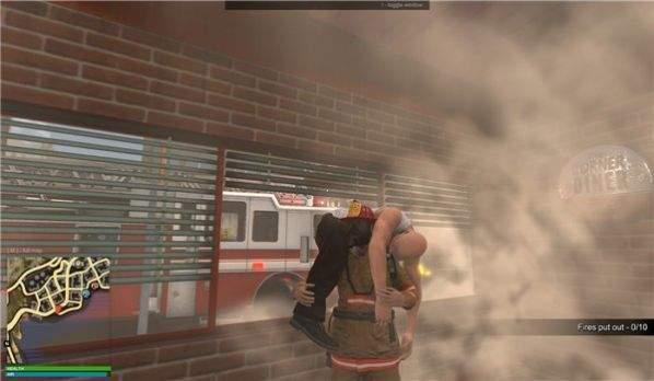 警察消防急救模拟器
