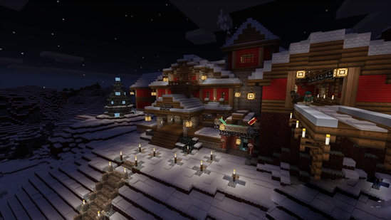 我的世界圣诞版2020中文版最新版游戏下载-我的世界圣诞版2020最新版游戏下载