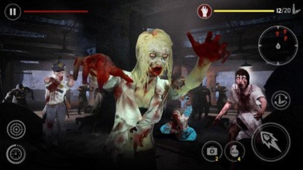 僵尸致命射击游戏下载-僵尸致命射击游戏最新版下载