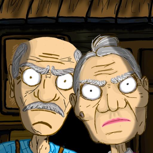 逃离爷爷和奶奶的房子
