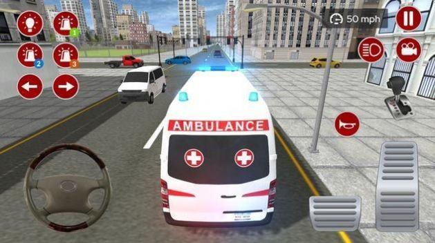 真正的救护车模拟