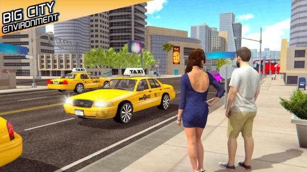 出租车模拟器2021破解版下载-出租车模拟器2021破解版无限金币下载