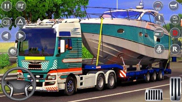 欧洲货运卡车模拟器中文版3D游戏下载-欧洲货运卡车模拟器中文版游戏下载