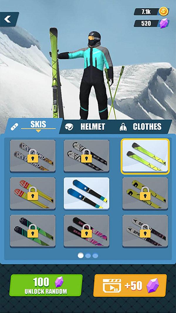 极限滑雪竞赛3D游戏下载-极限滑雪竞赛3D手机版下载