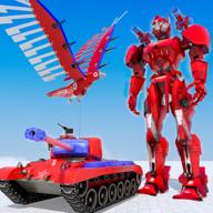 鹰机器人飞行模拟2020