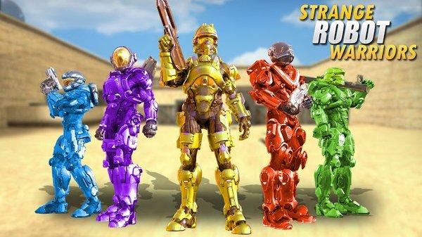 奇怪的机器人战士游戏下载-奇怪的机器人战士安卓版下载