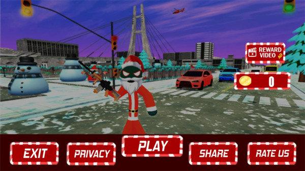 圣诞节火柴人游戏下载-圣诞节火柴人手机版下载
